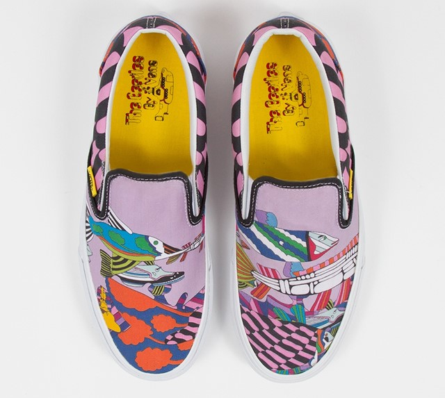 The Beatles Slip On Sea Of Monsters by VANS