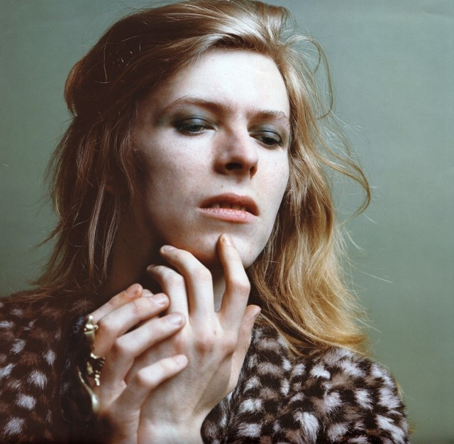 Long-haired David Bowie