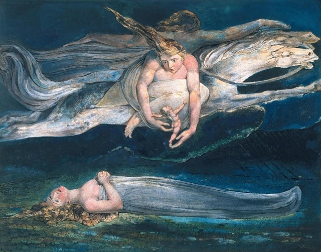 Pity by William Blake, 1795