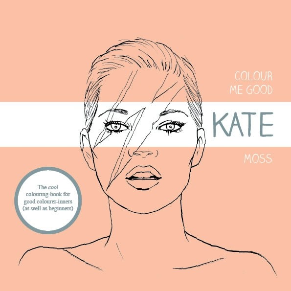 Kate Moss Colouring Book
