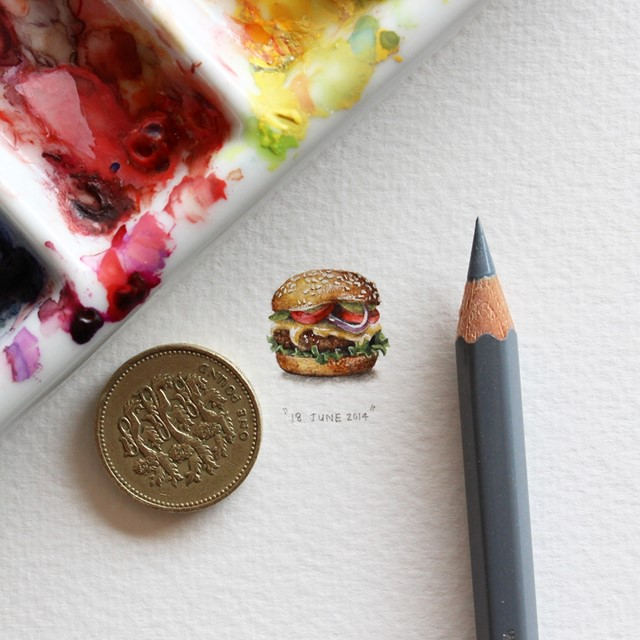Miniature Painting Project by Lorraine Loots