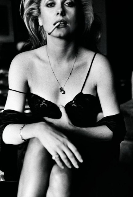 Catherine Deneuve by Helmut Newton