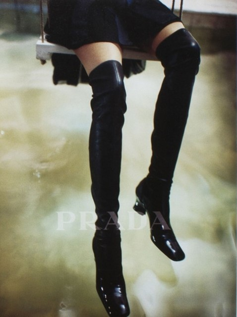 Prada Over-the-Knee Boots