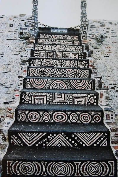Monochrome stairs