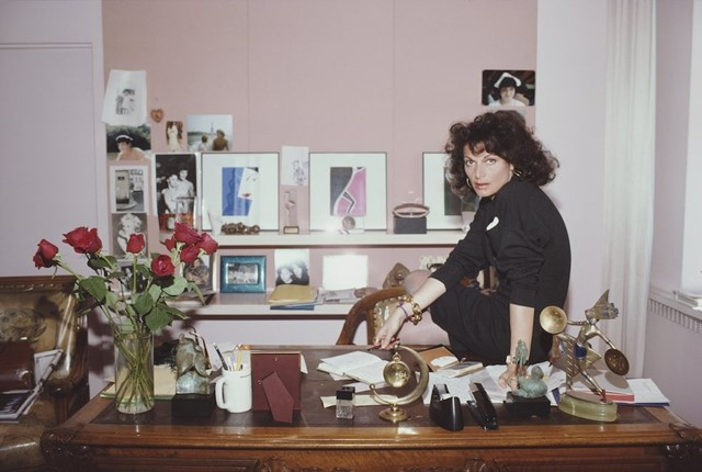 DvF at work (1987)