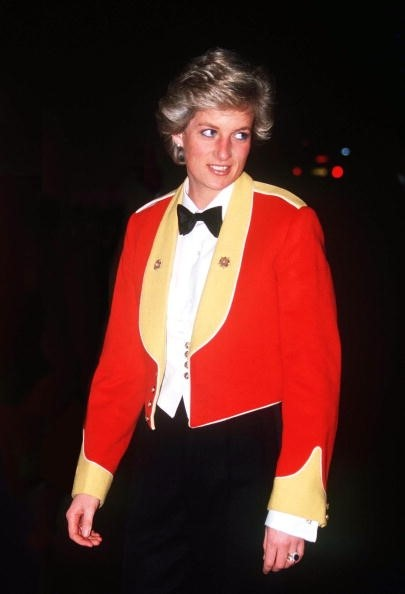 Diana, Princess of Wales in Gieves & Hawkes