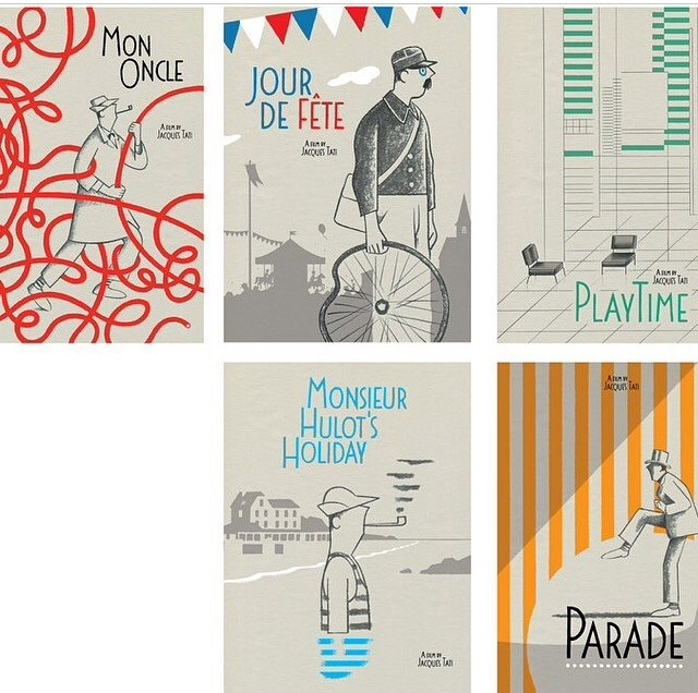 Criterion Collection box set of Jacques Tati