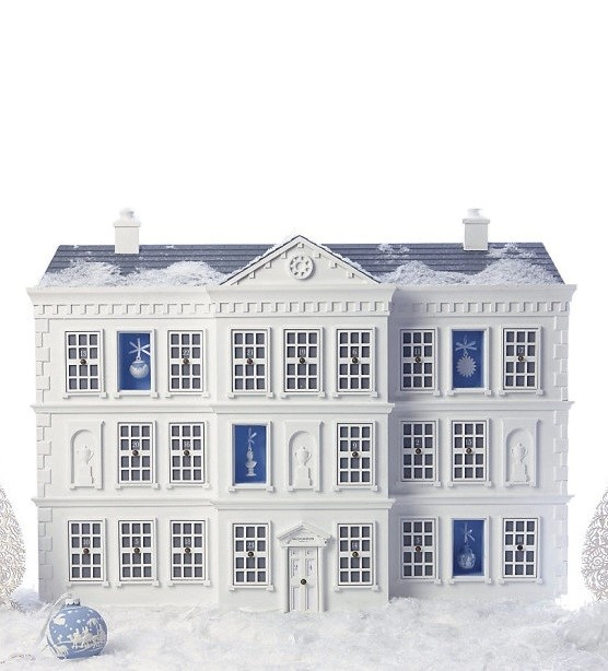Advent house by Wedgwood at Harrods