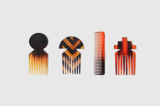 Hair combs by Studio Swine