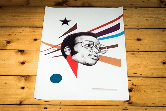 Bobby Womack // Limited Edition Ian Johnson Screen Prints (canvas) from Brownswood Recordings