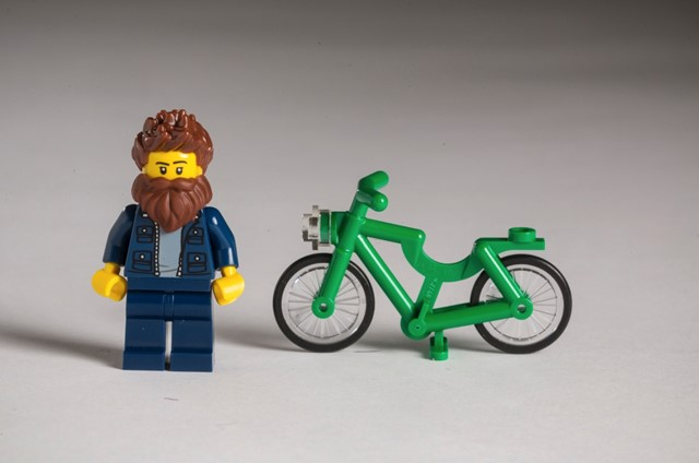 Hipster Lego.