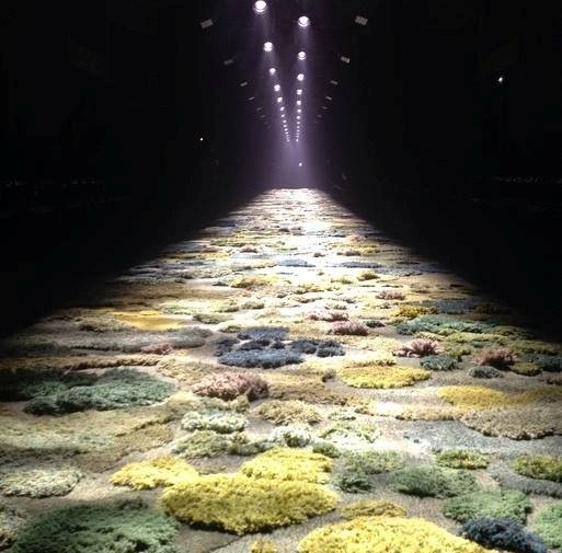 Alexandra Kehayoglou carpet for Dries Van Noten