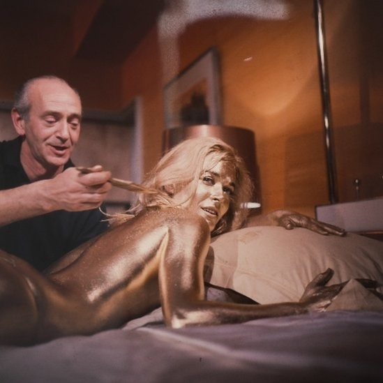 Behind The Scenes on Goldfinger (1964)