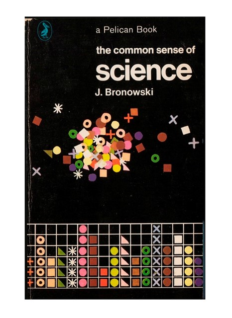 Bruce Robertson's cover for The Common Sense of Science