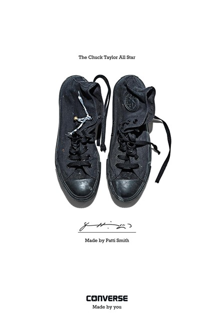 "Converse ""Made by You"" - Made by Patti Smith"