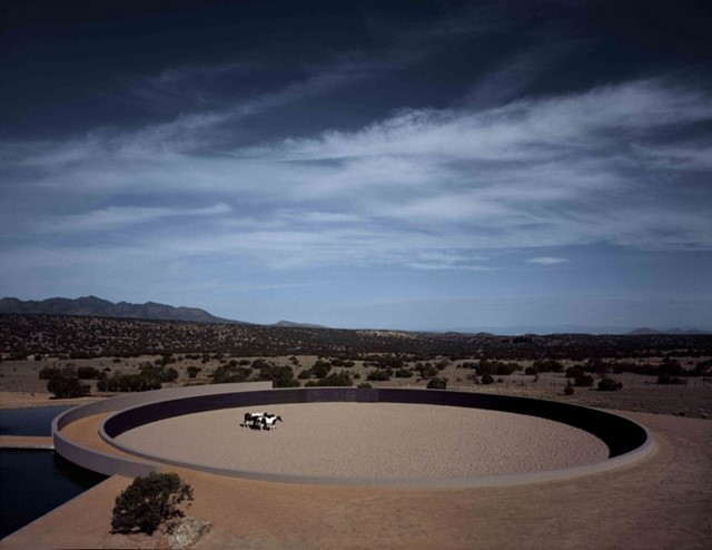 Tom Ford's ranch by Tadao Ando