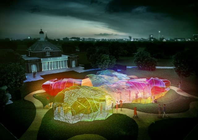 Serpentine Pavilion 2015 by Selgas Cano