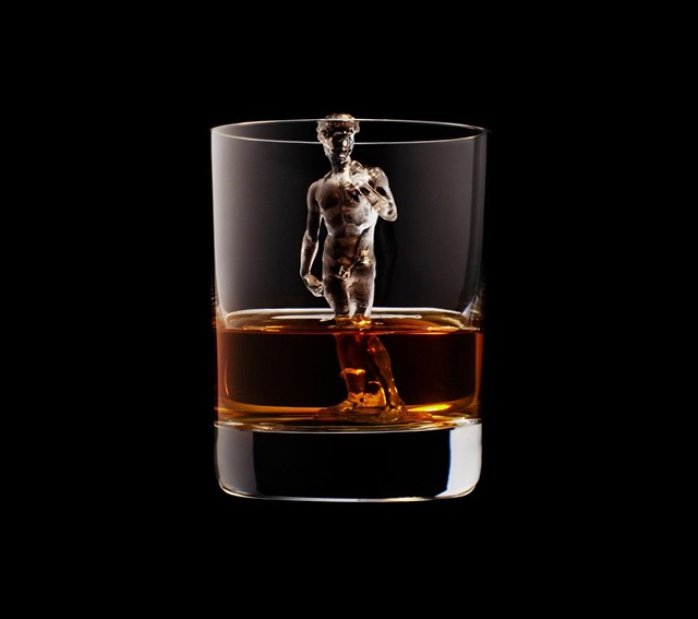 3D modeled ice cubes