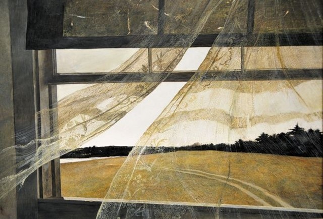 Wind from the Sea (1947) by Andrew Wyeth