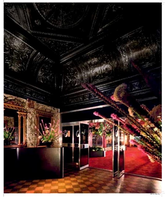 The Entrance to Studio 54, designed by Ian Schrager