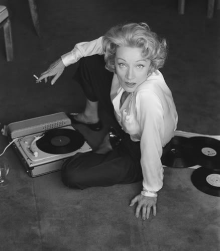 Marlene Dietrich by Willy Rizzo (1956)