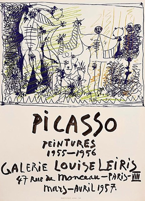 Picasso Poster, 1957