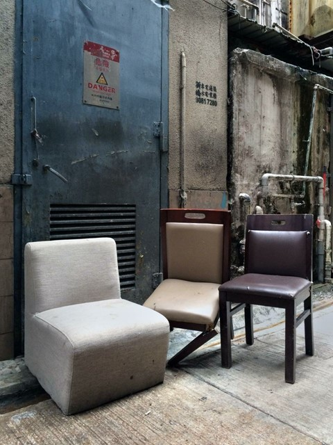 Informal seating arrangements by Michael Wolf