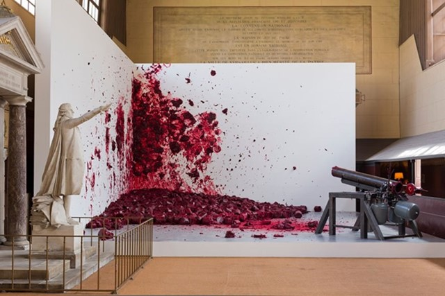 Shooting into the Corner, Anish Kapoor (2008-2009)