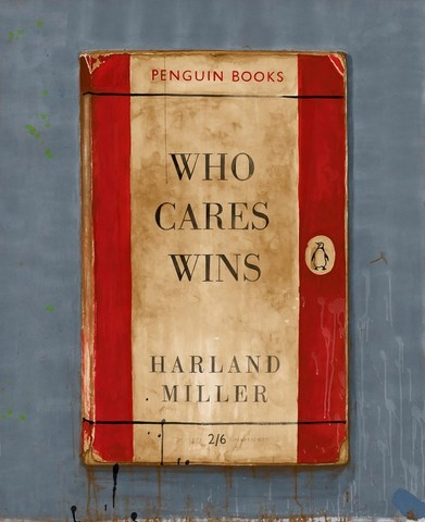 lWho Cares Wins' by Harland Miller