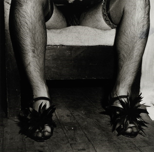 High Heels, Halloween by Peter Hujar (1980)