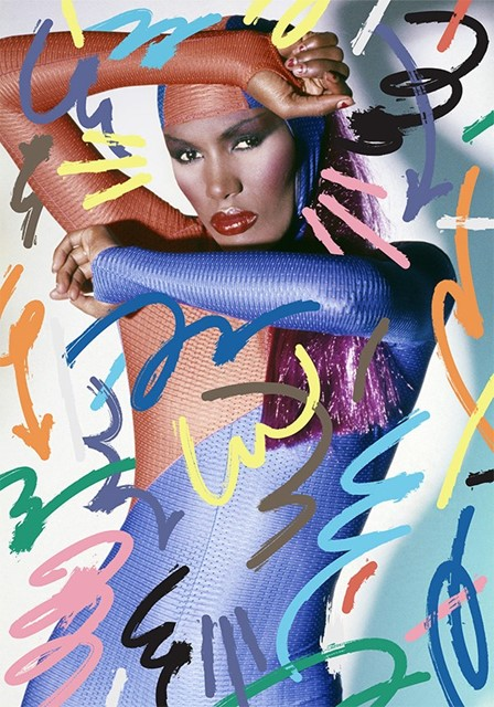 Grace Jones by Jordy van den Nieuwendijk for the S