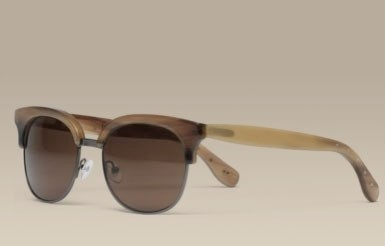 HORN EVERGREEN SUNGLASSES