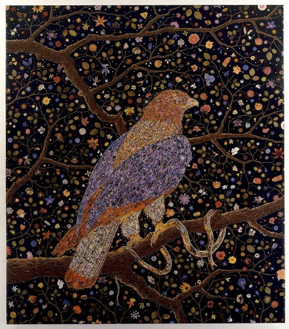 FRED TOMASELLI, Avian Flower Serpent, 2006