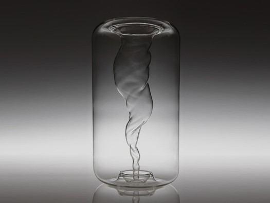 Whirlwind Vase by Aki and Arnaud Cooren