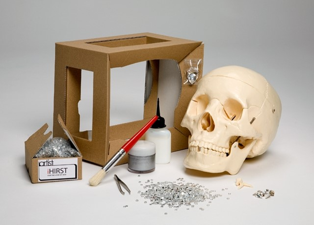 Make your own Damien Hirst Skull