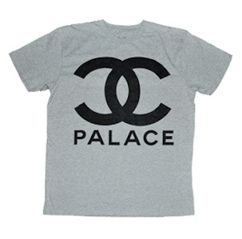 PALACE SKATEBOARDS CHANEL TEE
