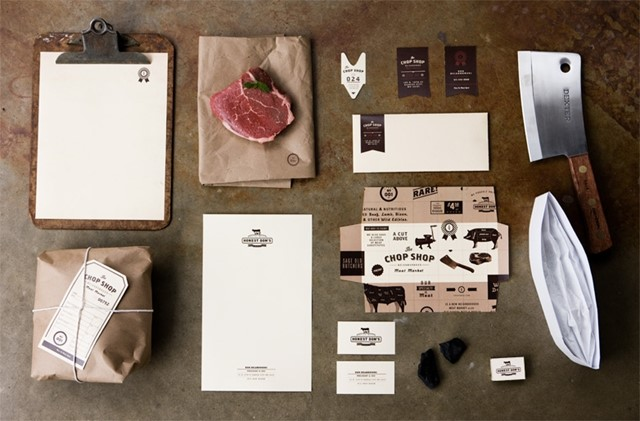 """Chop Shop"" packaging design by Caleb Owen Everitt"