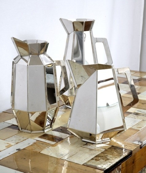 Piet Hein Eek Mirrored Metal Pots