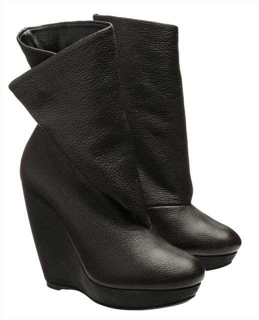 Balenciaga ankle boots with fold