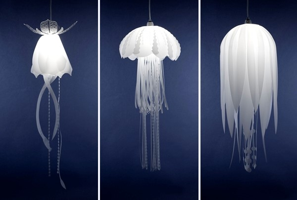 Medusa Lamps by Roxy Towry-Russel