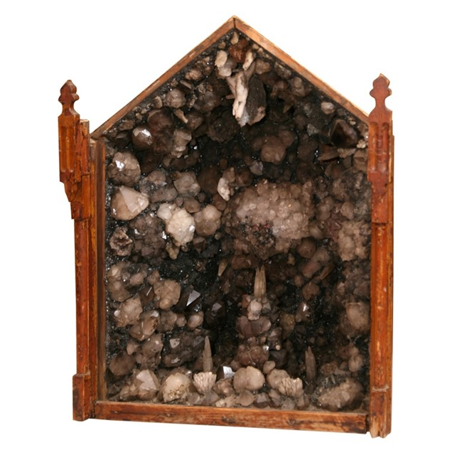 Crystal & Mineral Grotto Shrine, c. 19th century