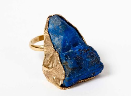 LAPIS LAZULI STONE RING BY BILLY BRIDE