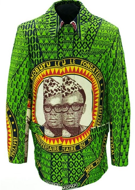 African commemorative coat