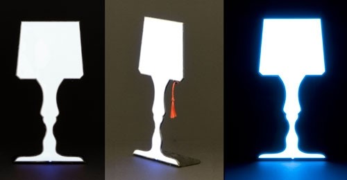 Lampada, table lamp by Show & Tell Design