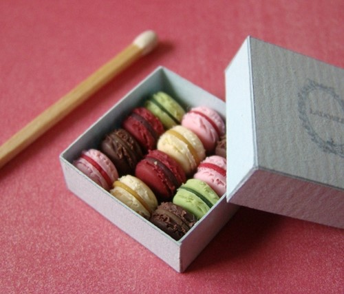 PetitPlat Food Art: Miniature macaroons