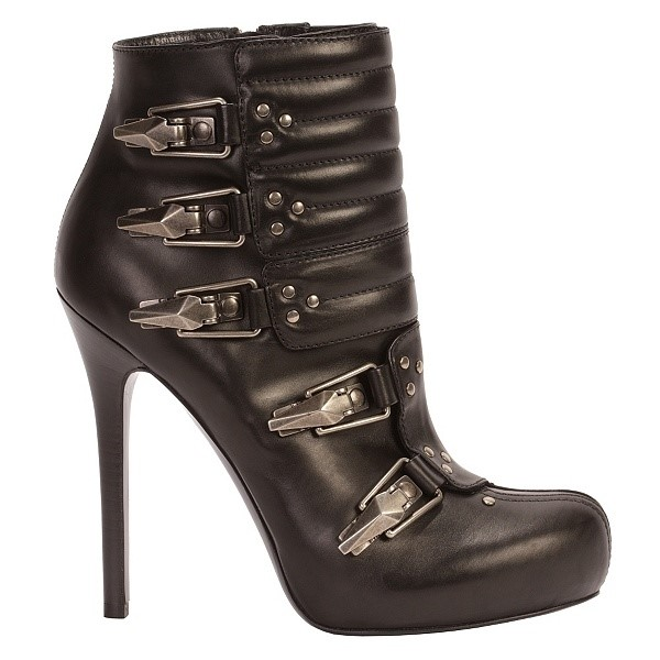 Buckled Ski Boot Alexander McQueen