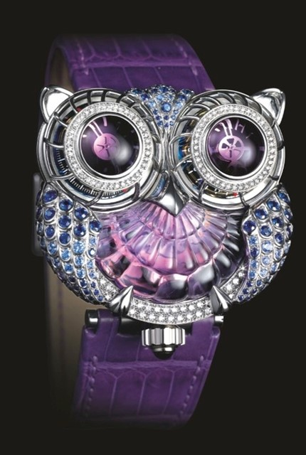 Hooty Owl Watch from Boucheron, in collaboration with Max Busser