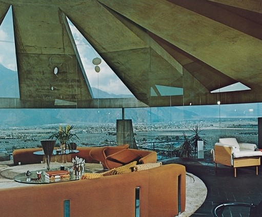 John Lautner's Elrod House, Palm Springs
