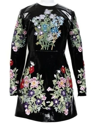 CHRISTOPHER KANE EMBROIDERED DRESS