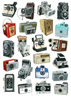 Camera print by Christine Berrie